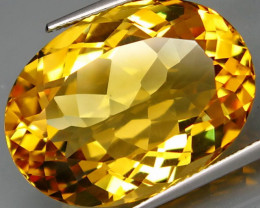 32.20  ct. 100% Natural Unheated Top Yellow Golden Citrine Brazil