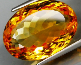 19.19 ct. 100% Natural Unheated Top Yellow Golden Citrine Brazil