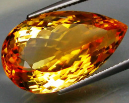 18.85 ct. 100% Natural Unheated Top Yellow Golden Citrine Brazil