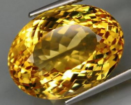 22.65 ct. 100% Natural Top Yellow Golden Citrine Unheated