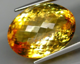24.84 ct. 100% Natural Unheated Top Yellow Golden Citrine