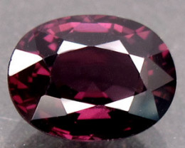 1.70 Ct.Natural Silver Purple Spinel Mogok, Burma Dazzling Unheated