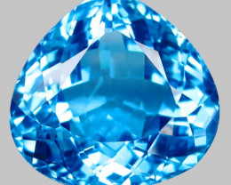 65.70 ct. 100% Natural Earth Mined Top Quality Blue Topaz Brazil