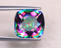 6.97Ct Natural Mystic Topaz Cushion Cut Lot LZ6057