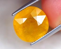 10.00Ct Yellow Sapphire Oval Cut Lot LZ6064