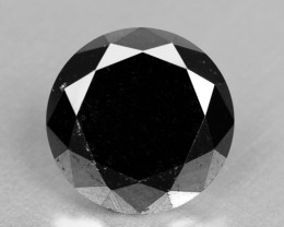 0.99 Cts Amazing Rare Fancy Black Color Natural Loose Diamonds