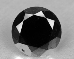 1.79 Cts Amazing Rare Fancy Black Color Natural Loose Diamonds