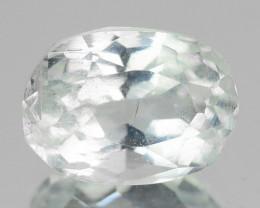 1.28 Un Heated  Sky Blue Color Natural Aquamarine Loose Gemstone