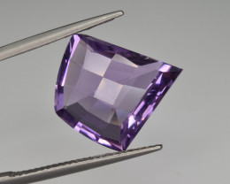 Natural Amethyst 9.42  Cts Top Clean Gemstone