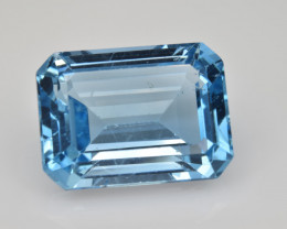 Natural Sky Blue Topaz 15.01 Cts Good Luster