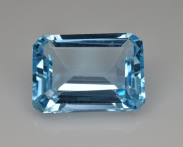 Natural Sky Blue Topaz 13.35 Cts Good Luster