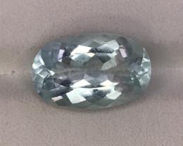 A Beautiful Aquamarine Gemstone 8.45 CTS