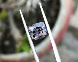 2.30 Ct Natural Gray Transparent Spinal Gemstone