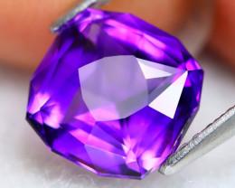 Uruguay Amethyst 2.25Ct VVS Master Cut Natural Violet Amethyst BN0105