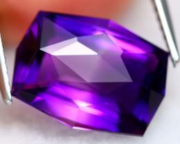 Uruguay Amethyst 4.87Ct VVS Master Cut Natural Violet Amethyst BN0109