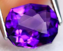 Uruguay Amethyst 2.68Ct VVS Master Cut Natural Violet Amethyst BN0112
