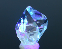 Rare 8.59 ct Natural Fluorescent Petroleum Quartz SKU.1