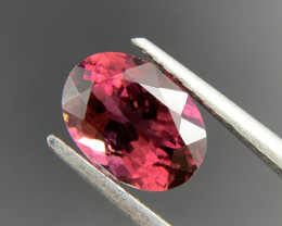 1.88 ct Natural Tourmaline Pink Oval cut loose gemstone Ideal for mounting