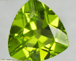 3.07 Cts Amazing Rare Fancy Green Natural Peridot Gemstone
