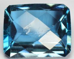 2.60 Cts Fancy Swiss Blue Color Topaz Natural Gemstone