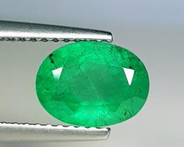 1.77 ct  Top Grade Gem Stunning Oval Cut Natural Emerald