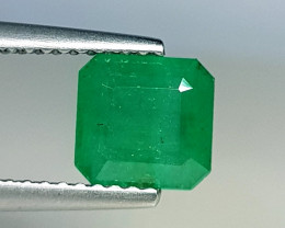 1.52 ct  AAA Grade  Exclusive Square Cut Natural Emerald