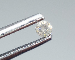 0.08ct  Diamond , 100% Natural Untreated