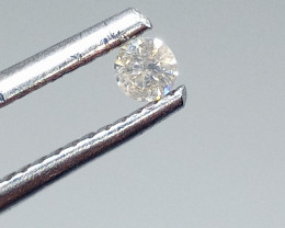 0.09ct  Diamond , 100% Natural Untreated