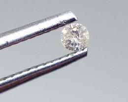0.07ct  Diamond , 100% Natural Untreated