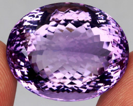 43.65 Ct. 100 % Natural Rich Purple Amethyst Uruguay Unheated