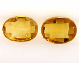 2.45 CTS  VVS CITRINE NATURAL FACETED pairCG-58