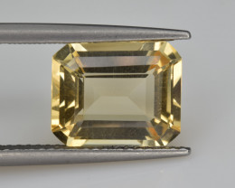 Natural Citrine 3.99  Cts Faceted Gemstone