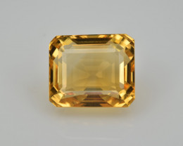 Natural Citrine 5.70  Cts Faceted Gemstone