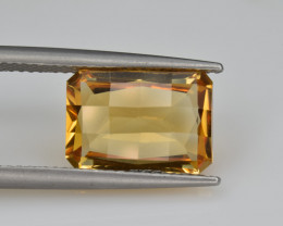 Natural Citrine 4.52   Cts Faceted Gemstone