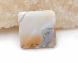 28.5Cts Beautiful agate Gemstone Natural Agate Cabochon Squre Agate G210