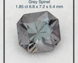 Pretty Charcoal Grey 1.85ct Spinel - Burma Ref 2281