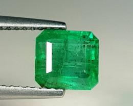 1.81 ct  Top Grade Gem  Stunning Square Cut Natural Emerald