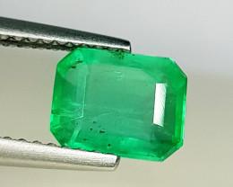 1.54 ct  Collective Gem Excellent Octagon Cut  Natural Emerald