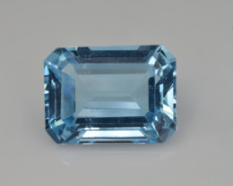 Natural Sky Blue Topaz 13.79  Cts Good Luster
