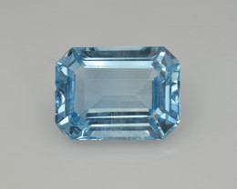 Natural Sky Blue Topaz 14.07  Cts Good Luster