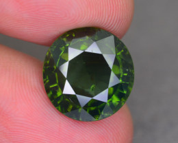 Rare 10.98 ct Green Zircon Great Luster Unheated Cambodia SKU.9