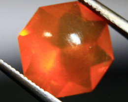 Cts.    2.10    Faceted Mix brillant cut Mexican fire Opal  RF201