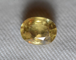 Unheated Yellow Sapphire 2.40 Carats GIA Certified