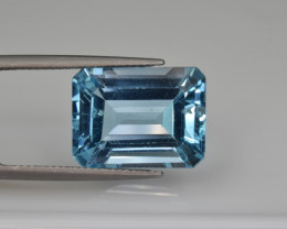 Natural Sky Blue Topaz 13.75  Cts Good Luster