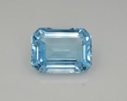 Natural Sky Blue Topaz 13.57  Cts Good Luster