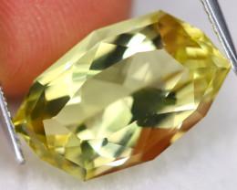 Prasiolite 7.58Ct VVS Designer Cut Natural Brazilian Prasiolite C1018