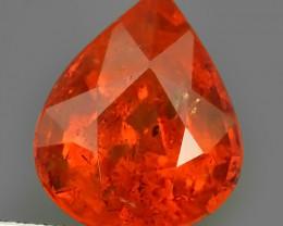 5.55 Cts~Natural Shocking Fanta Orange Spessartite Garnet Namibia, Amazing!