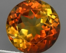 6.40 CTS CHAMPION~ROUND TOPAZ WONDERFUL COLOR RARE STONE NR!!