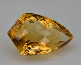 Natural Citrine 17.12  Cts Faceted Gemstone