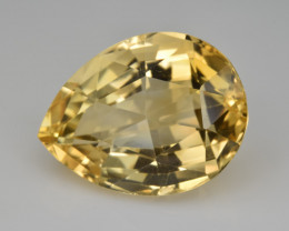 Natural Citrine 18.53  Cts Faceted Gemstone